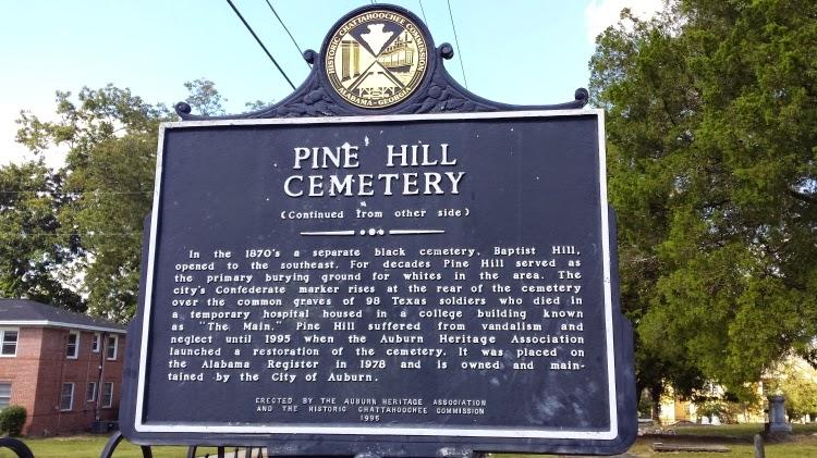Waarom Pine Hill Haints de bandnaam kozen - Pine Hill Cemetery - Auburn AL