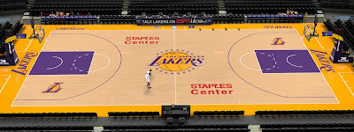 NBA 2K14 Lakers Staples Center (Gold/Violet)