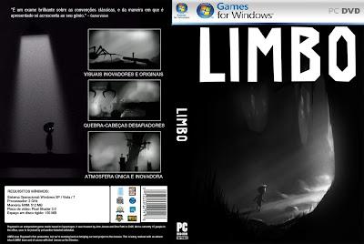 Jogo Limbo PC DVD Capa