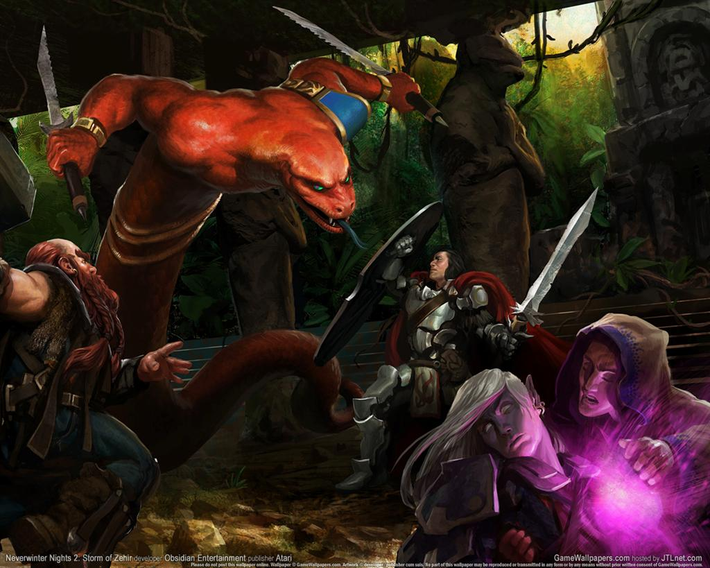 Neverwinter Nights HD & Widescreen Wallpaper 0.98064850707849