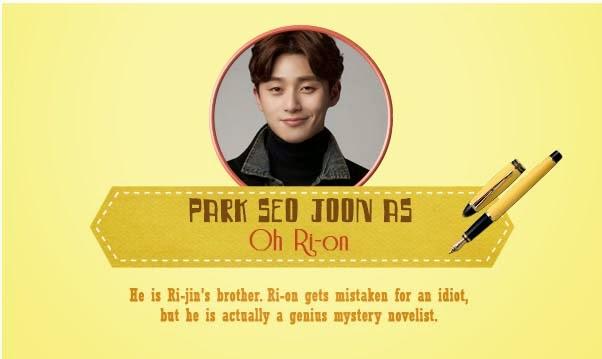 Park Seo-joon  As Oh Ri-on