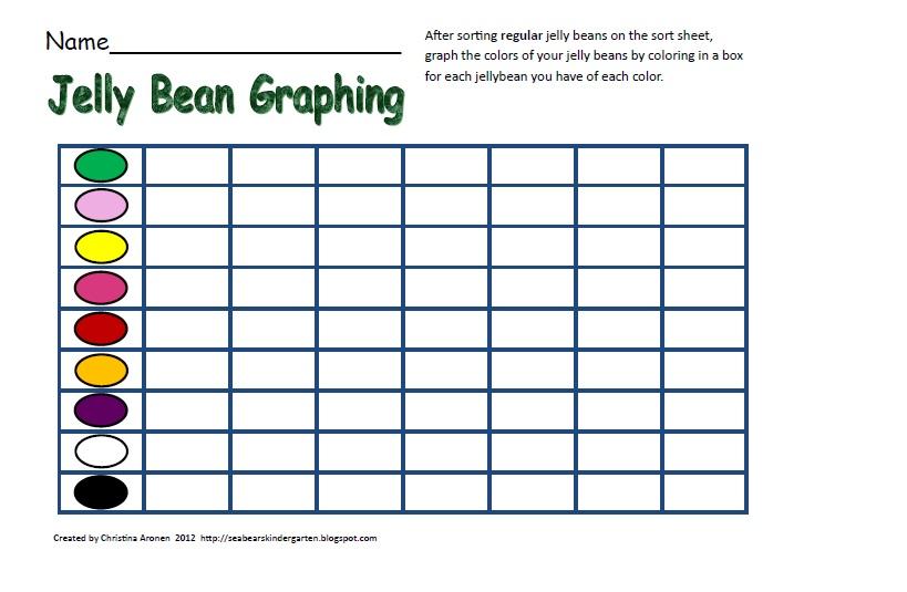 ... Bean Graphing Worksheet Kindergarten also with printable eye worksheet