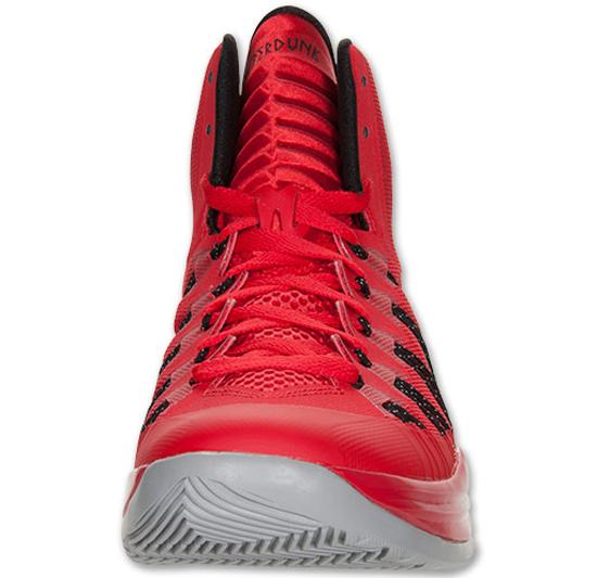 Nike Hyperdunk 2013 University Red/Black-Wolf Grey:
