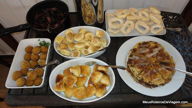 Café da manhã - Serra Bela Hospedaria Rural - Urubici/SC