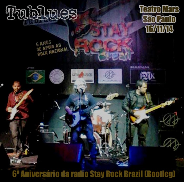CD BOOTLEG - Tublues 6º aniversário da Stay Rock Brazil