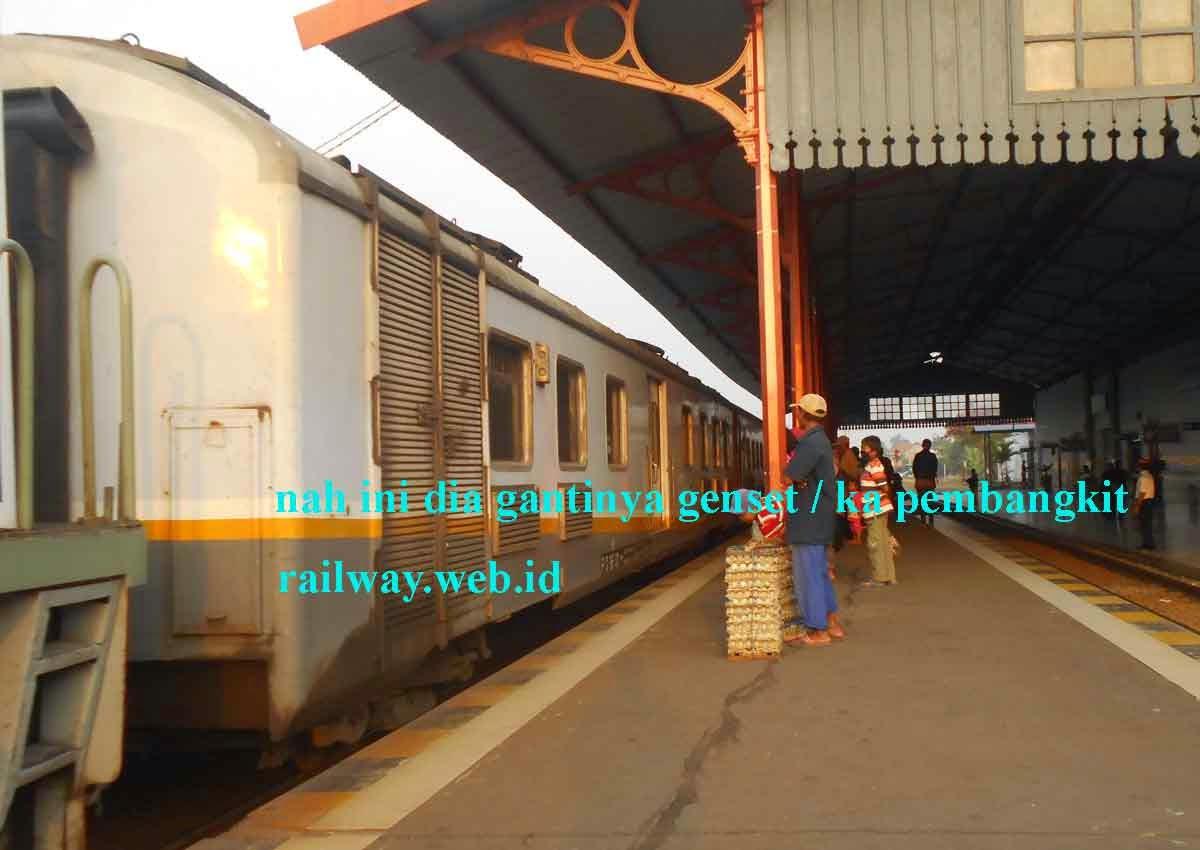 gambar genset kereta api