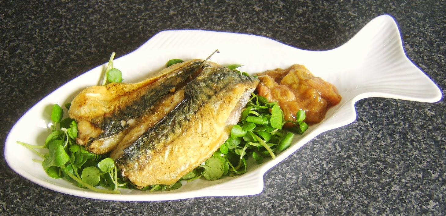 Modern scottish food and recipes pan fried mackerel - Contemporary cuisine recipes ...