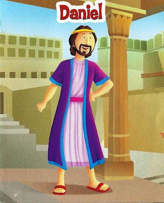 A história de Daniel ilustrada