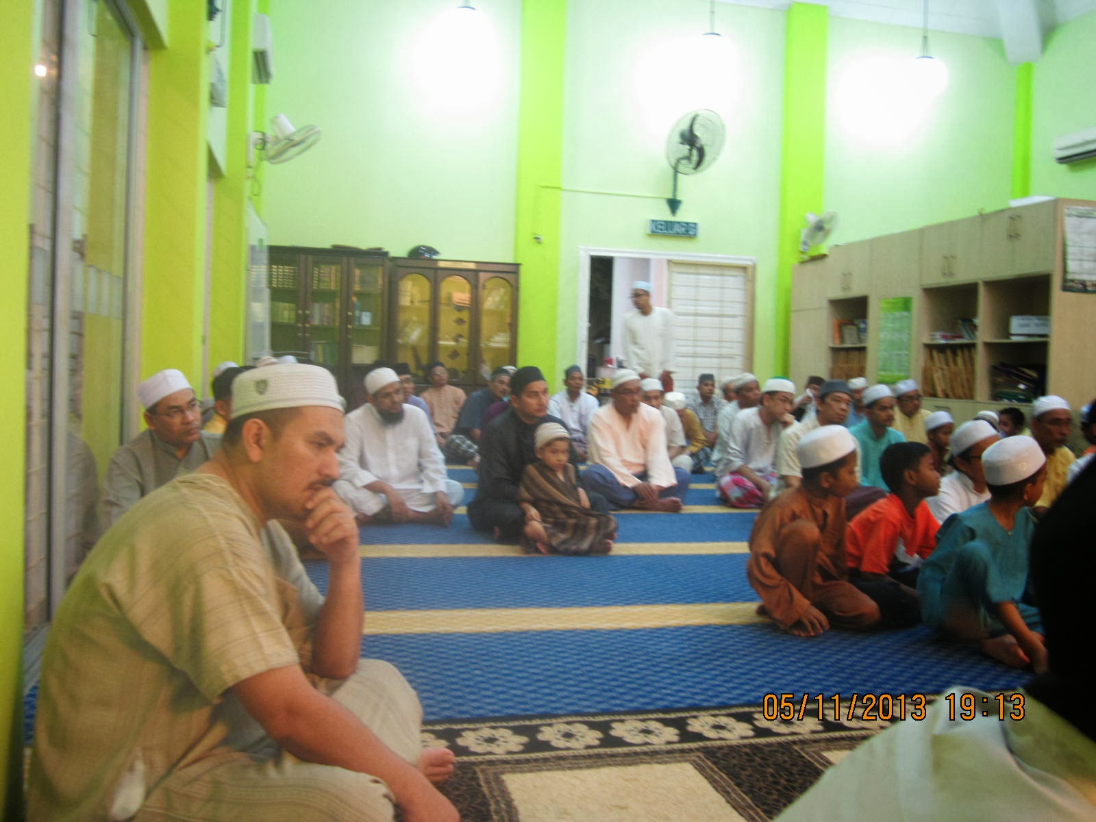 Ceramah Perdana Maal Hijrah di SSA 05Nov13