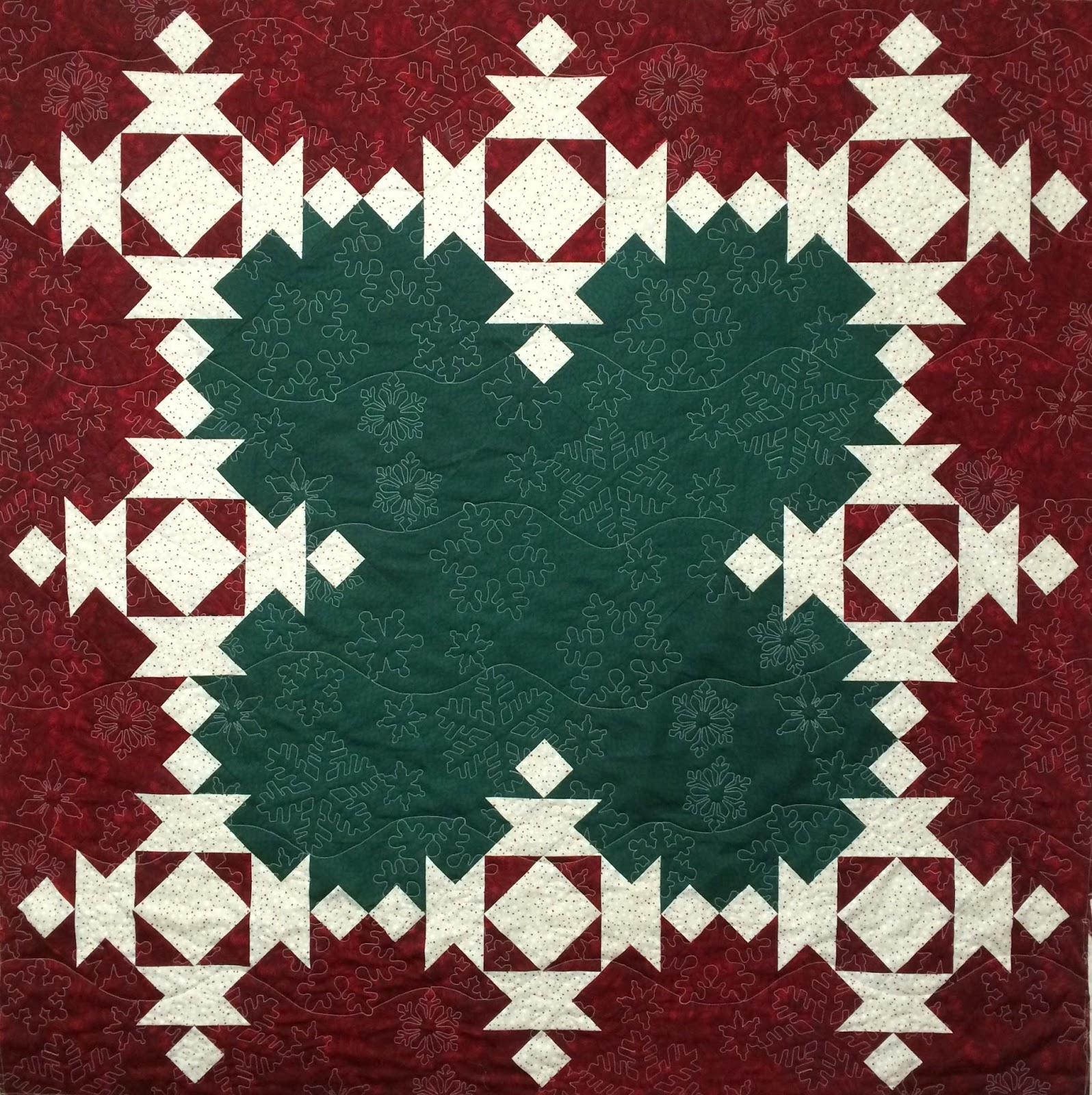 Lori Becker's Christmas Tree Skirt