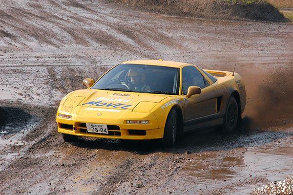 205. Ciekawostki JDM #014: Honda NSX Dirt Trial. staryjaponiec blog ホンダ