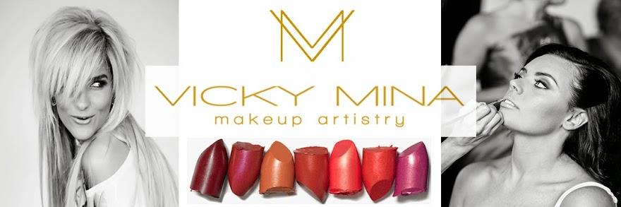 Vicky Mina Makeup