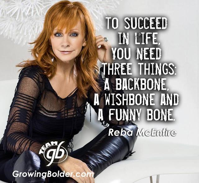 quotes for success, Reba McEntire