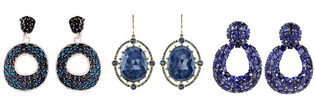 Luxury earrings. Expensive earrings. Most beautiful earrings. Glamour earrings. One-of-a-kind earrings.