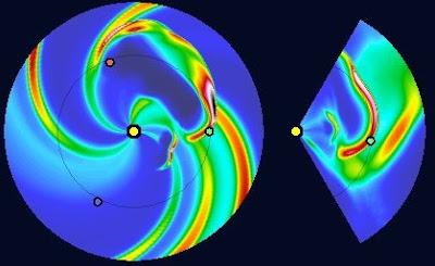 Impacto llamarada solar 15 de marzo de 2012