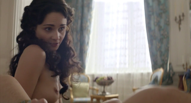 Tuppence Middleton titties in War & Peace