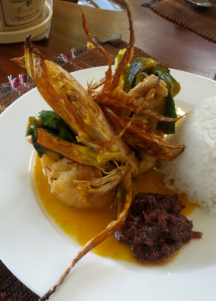 how to cook chicken kare kare
