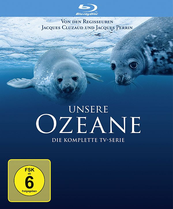 Unsere Ozeane Blu-ray Cover