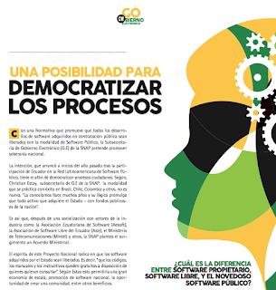 Software público y su impacto en la democracia y la internacionalización