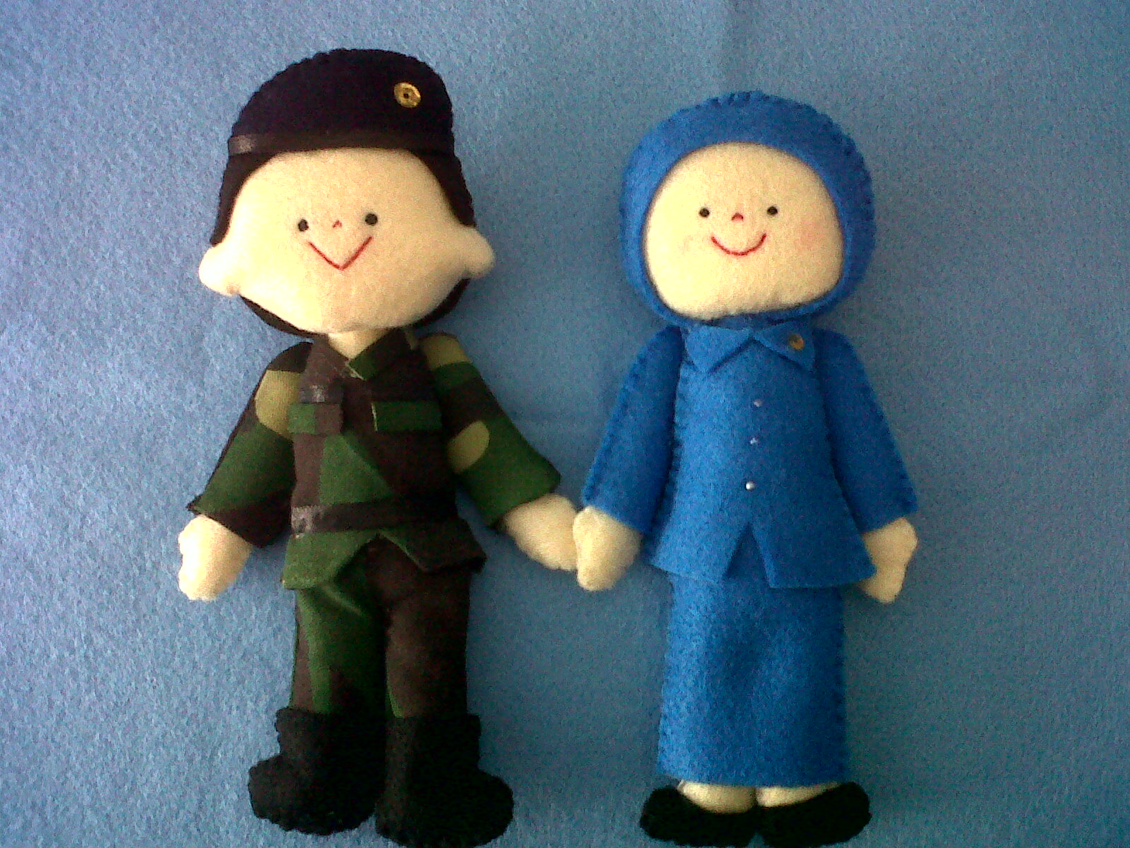 Gambar Kartun Pasangan Tentara