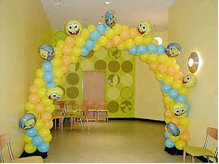 SpongeBob Children's Parties Decoration