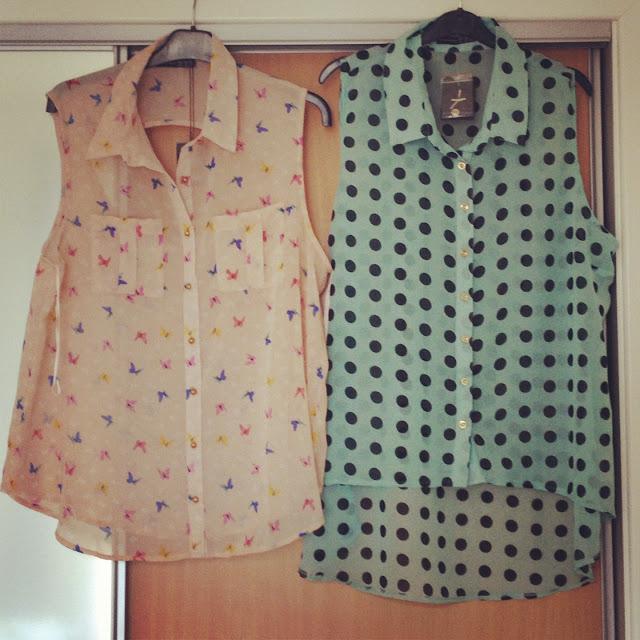 Womens Primark Sleeveless Shirts