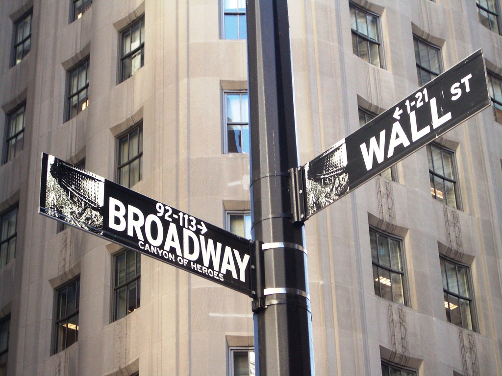 And broadway one of the most famous street signs in new york