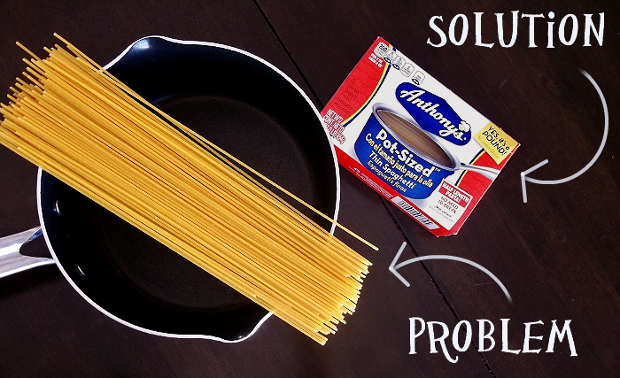 Pot-Sized Pasta Solution
