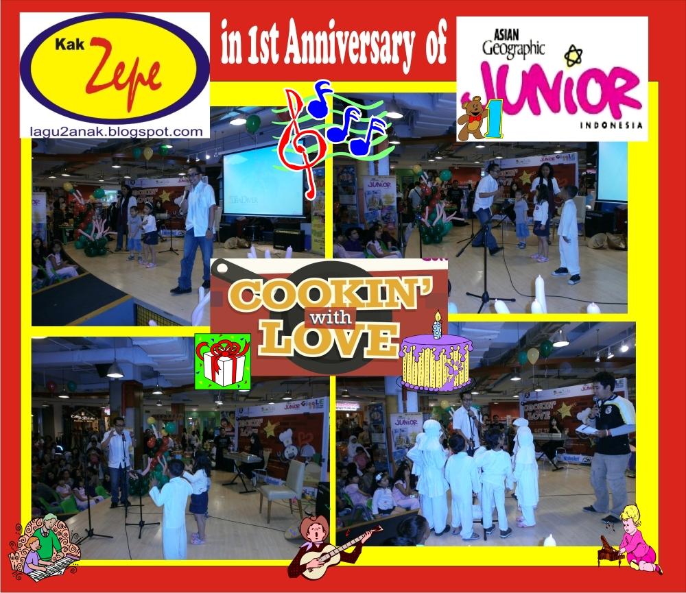 acara yang bertaju k cooking with love i ni diadakan dalam rangka 1st
