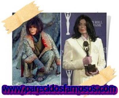 Ari el Planeta de los Simios con Michael Jackson