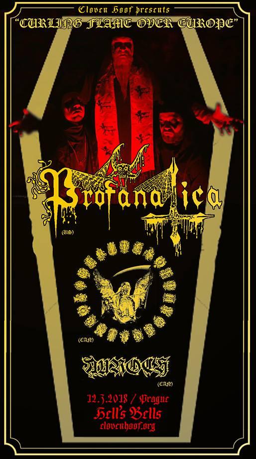 12. 3. 2018 -  Profanatica, Rites of thy Degringolade, Auroch