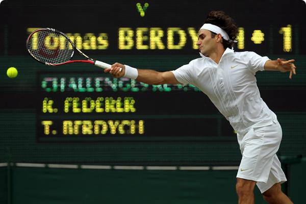NO....NO ES UNA BROMA...Federer está 2 del Mundo y juega la final !