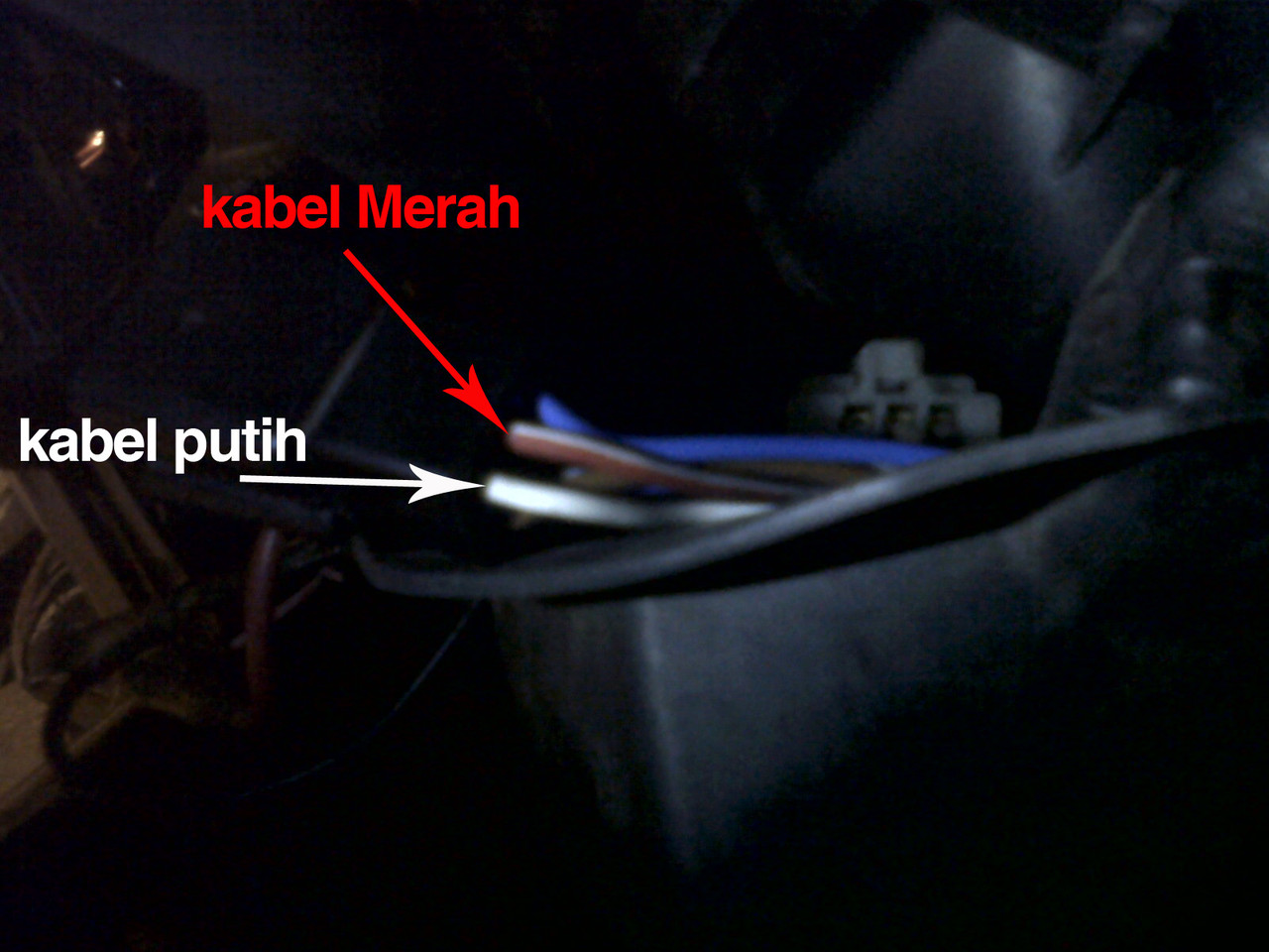 Merubah Fungsi Switch Engine Off Menjadi Switch Headlamp