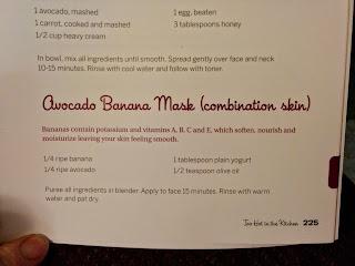 Avocado Banana Mask 1