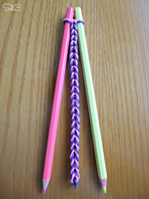 Pulsera gomas elasticas