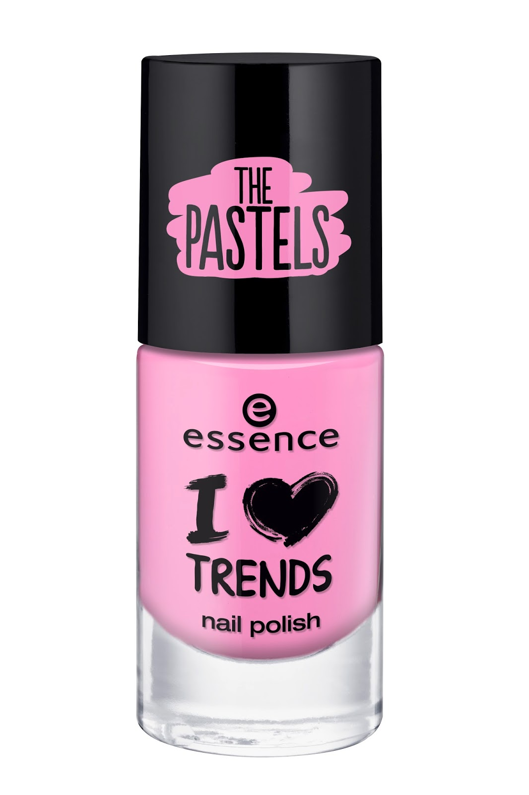 Essence I ♥ TRENDS nail polish the pastels