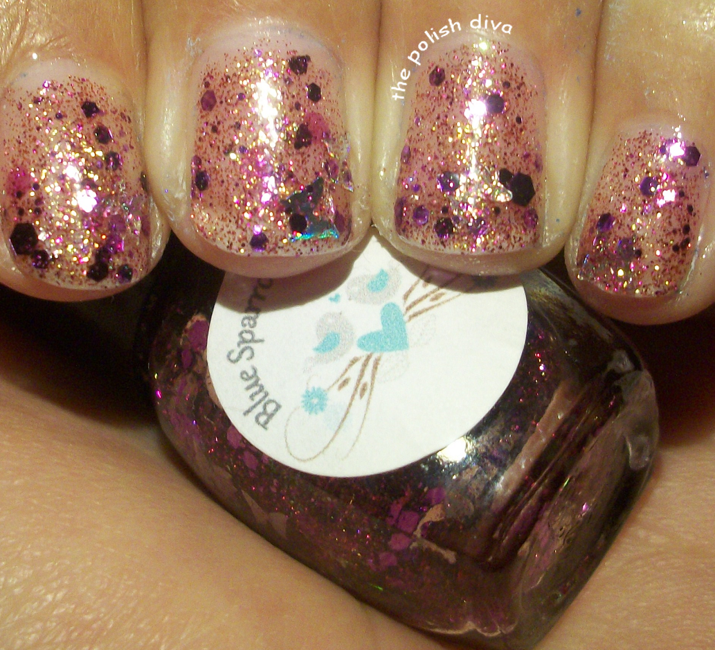 The Polish Diva: Blue Sparrow Trinket\'s Nail Poish Swatches and Review