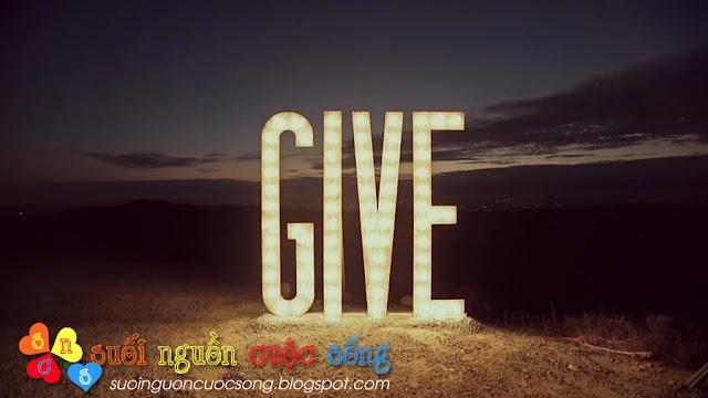 Cho đi là hạnh phúc hơn nhận về, truyen ngan, truyen hay, cuoc song, hạnh phuc, cho di