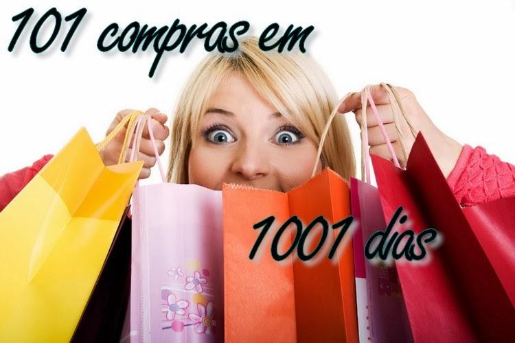 Projeto 101 compras em 1001 dias