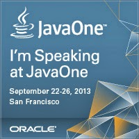 Speaking at JavaOne