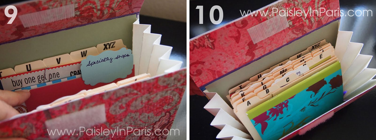 4x6 coupon organizer