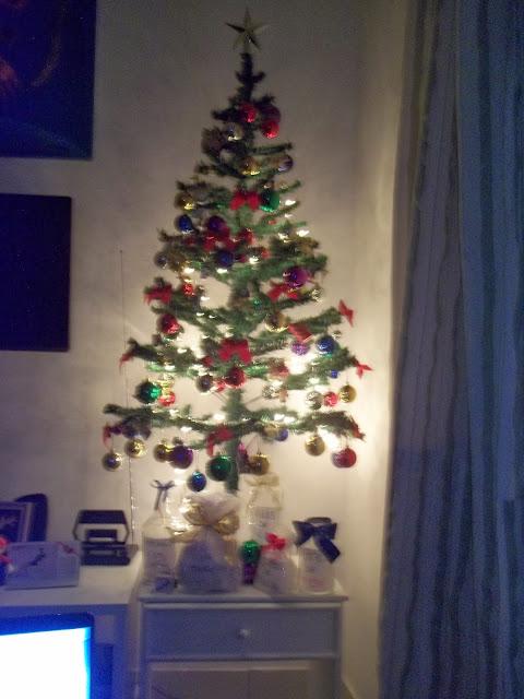 decoração de árvore  de natal