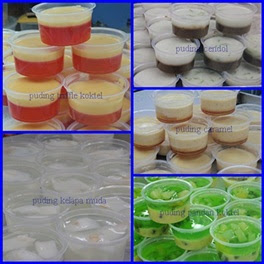 aneka mini puding