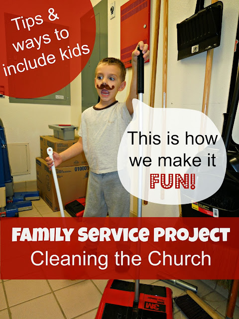Church Cleaning Services : Tips for making cleaning fun family service project
