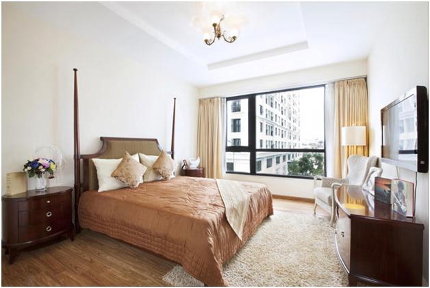 Phòng ngủ căn hộ mẫu T11 Times City