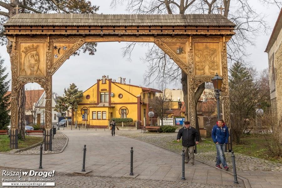 Brama Seklerska w Starym Sączu