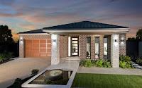 Foto de fachada de casa moderna de un piso