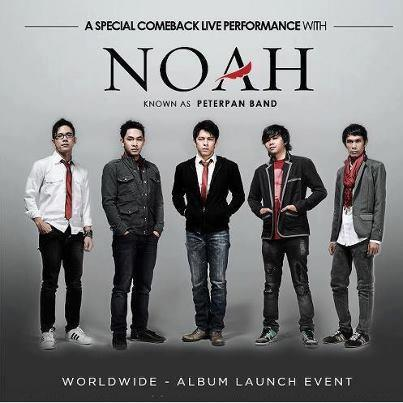 Lirik Lagu dan Chord : NOAH - Separuh Aku