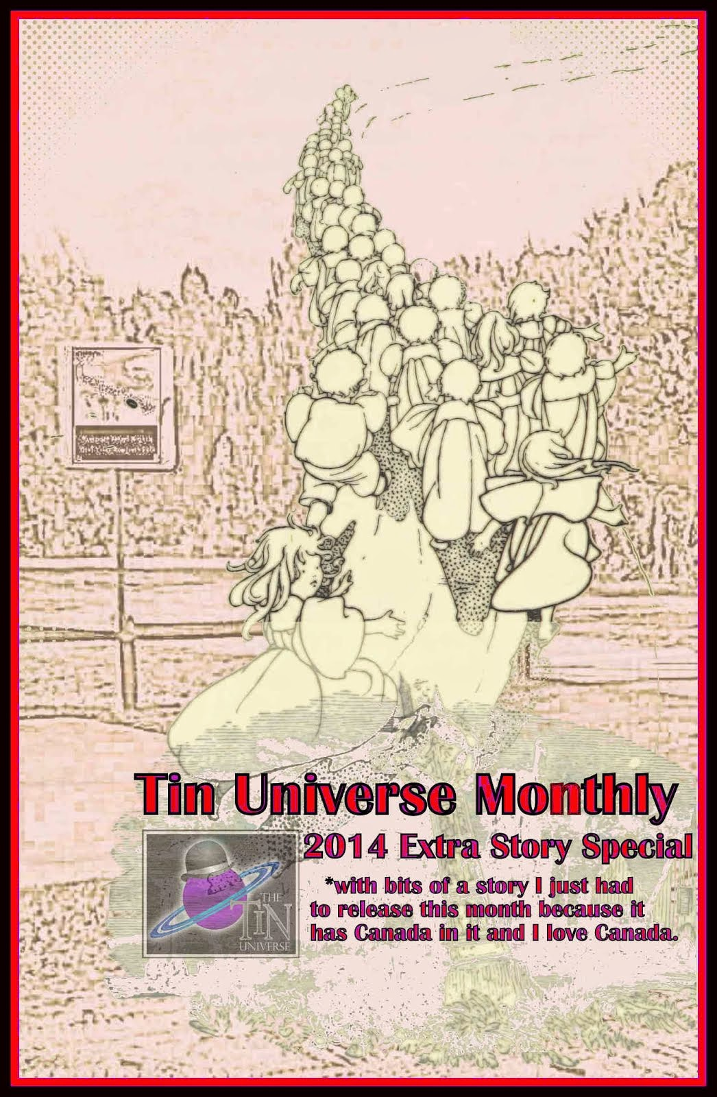 Tin Universe Monthly 2014 Extra Stuff In April Special