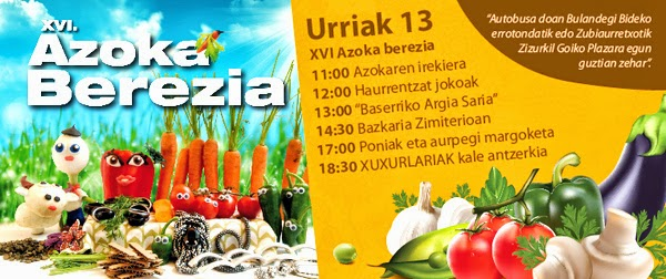 Zizurkilgo XVI. azoka berezia